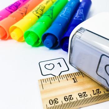 Teacher self-inking stamp - Love it!