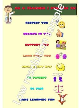 Teacher student contract