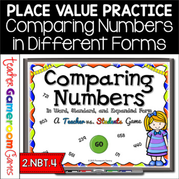 Teacher vs. Student - Comparing Numbers in Different Form