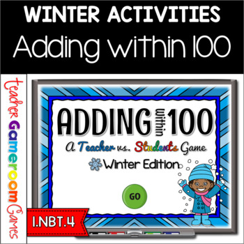 Adding Within 100 - Winter Edition - PPT Games