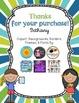 Teacher/Student Information Card