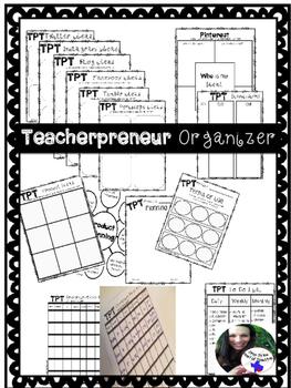 Teacherpreneur for TPT organizer