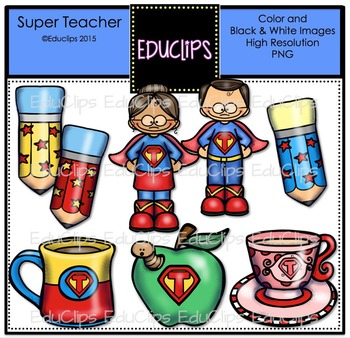 Teacher Fun Pack Clip Art Bundle