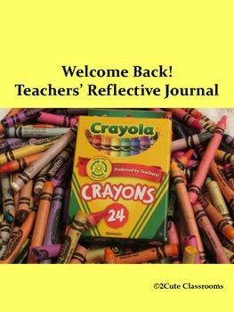 Teacher's Beginning of School Reflective Journal
