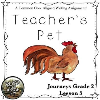 Teacher's Pet-Journeys Grade 2-Lesson 5
