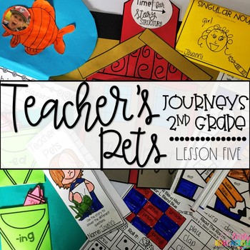 Teacher's Pets Supplement Materials Aligned with Journeys