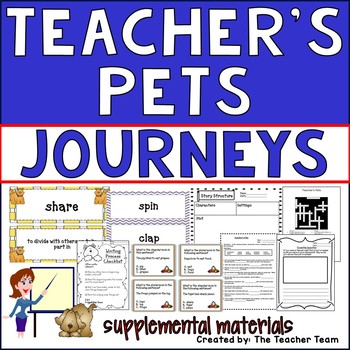 Teacher's Pets Journeys Second Grade Supplemental Materials