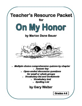 Teacher's Resource Packet for On My Honor
