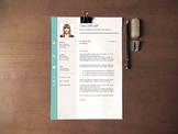 Teacher's Resume Template | Professional Resume Design + C