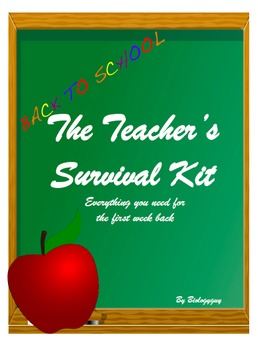 Teacher's Survival Kit and Classroom Management For The Fi