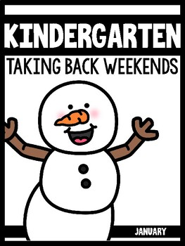Kindergarten Teachers Taking Back Their Weekends {January