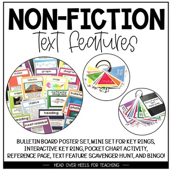 Teacher's Toolkit For Teaching Non-Fiction Text Features