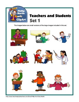Teachers and Students Set 1