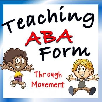 Movement Activity—Teaching ABA Form