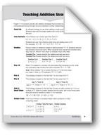 Teaching Addition Strategies, Grades 4-6+