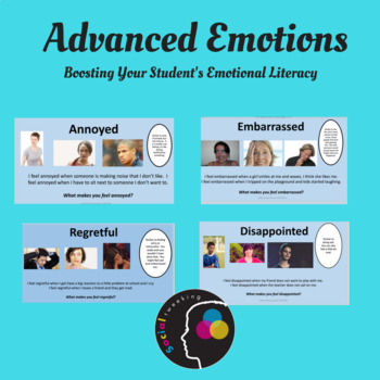 Teaching Advanced Emotions