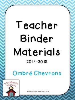 Teaching Binder: Chevron Design
