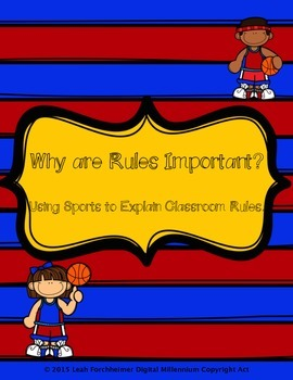 Teaching Classroom Rules with Sports!