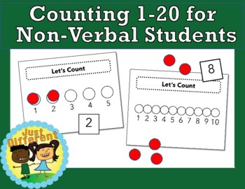 Teaching Counting to Non-verbal Students: 1-to-1 Correspon