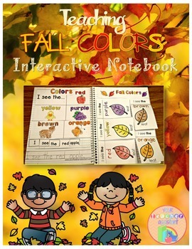 Fall Colors Interactive Notebook