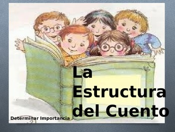 Teaching Fiction Story Structure-Spanish