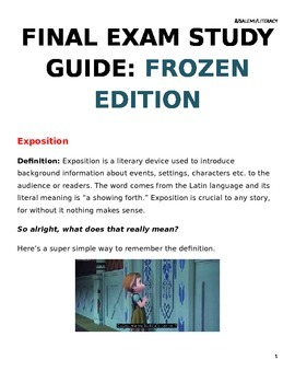 Teaching Figurative Language with Frozen