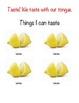 Teaching Five Senses- Science! Pics & descriptions of 5 se