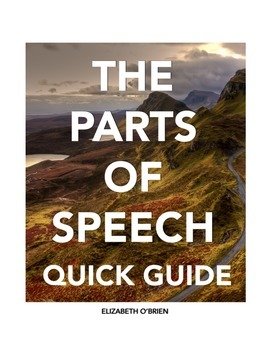 Teaching Grammar: The Parts of Speech Quick Guide