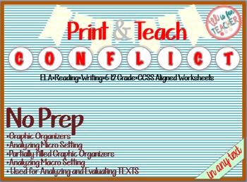 Teaching Internal/ External Conflict