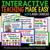 Interactive Teaching Made Easy Webinars