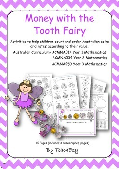 Teaching Money with the Tooth Fairy - Australian Currency