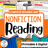 Teaching Nonfiction Reading (A Comprehensive Unit On Skill
