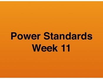 Teaching Presentations Week 11 - Language Arts Power Stand