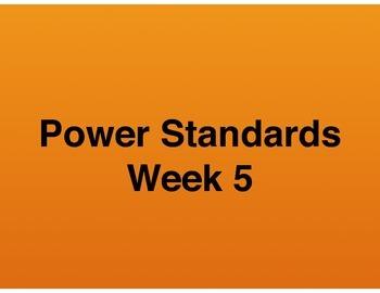 Teaching Presentations Week 5 - Language Arts Power Standa
