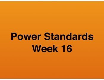 Teaching Presentations Week 16 - Language Arts Power Stand