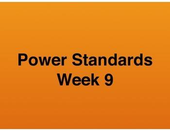 Teaching Presentations Week 9 - Language Arts Power Standa