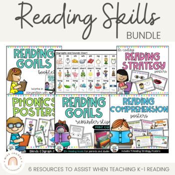 Teaching Reading Skills Bundle {K-2}