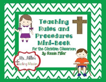 Teaching Rules and Procedures for the Christian Classroom