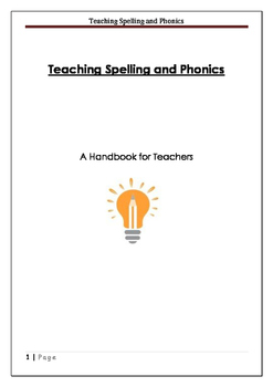 Teaching Spelling and Phonics