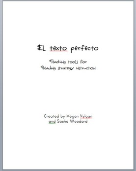 """Teaching Texto Perfecto (""""Just Right"""" Books)"""