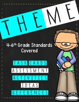 Teaching Theme- 4th grade + - Common Core Aligned