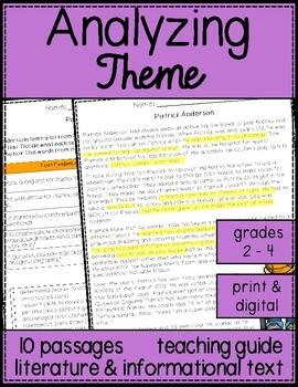Teaching Theme Skill Passages