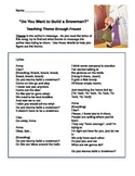 Teaching Theme with Frozen