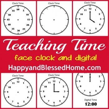 Teaching Time Printables