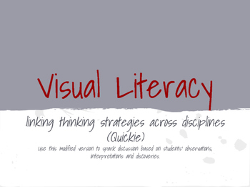Teaching Tolerance through Art and Literacy