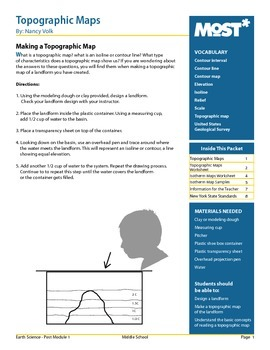 Teaching Topographic Maps and Isotherms