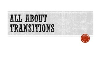 Teaching Transitions