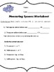 Measuring spoons--teach students to use measuring spoons w
