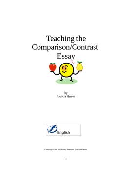 Teaching the Comparison/Contrast Essay