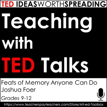 TED Talks Lesson (Feats of Memory Anyone Can Do)